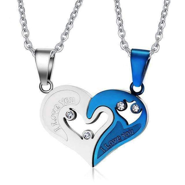 Pendant Necklace Necklaces for Couples/ Friends with Heart Pendant