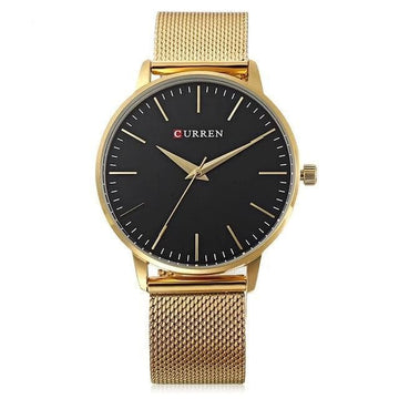CURREN  Stainless Steel Fashion Women Watches 9021