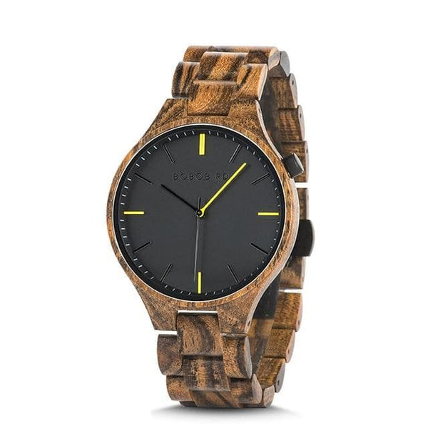 BOBO BIRD Men Wood Watch W-S27