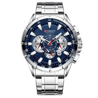 CURREN Military Stainless Steel Watch 8363