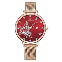 Watches NAVIFORCE New Arrive Luxury Crystal Watch for Women NF-5011