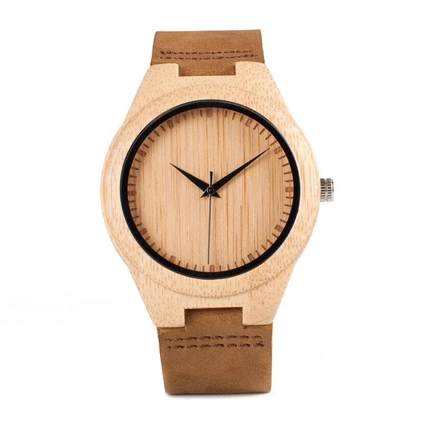 BOBO BIRD Classic Bamboo Wooden Watch WF18