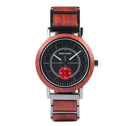 Watches BOBO BIRD Luxury Men Wooden Watches W-R12