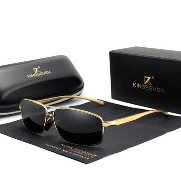 KINGSEVEN Retro Sunglasses N7088F1
