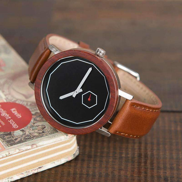 wooden watch BOBO BIRD Casual Wood Watch M28