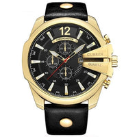 CURREN Men's Quartz Wristwatches 8176-1