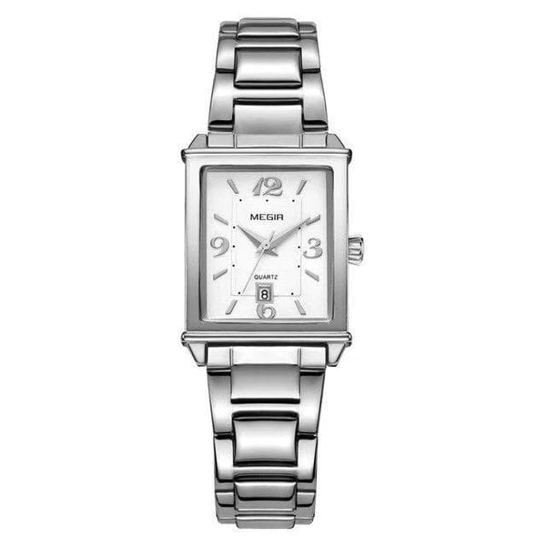 Watches Fashion Rectangle Women Quartz Watch 1079