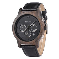 BOBO BIRD Luxury Chronograph Wooden Watches WP28