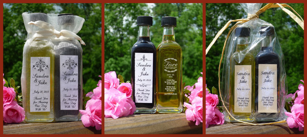 FIORE Olive Oil wedding and event favors...