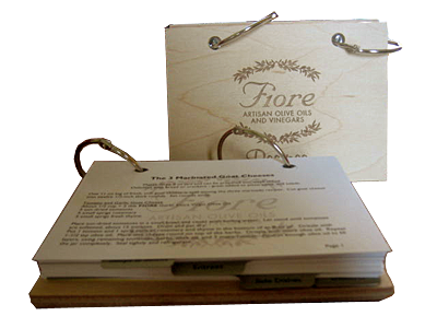 Recipe Book by FIORE