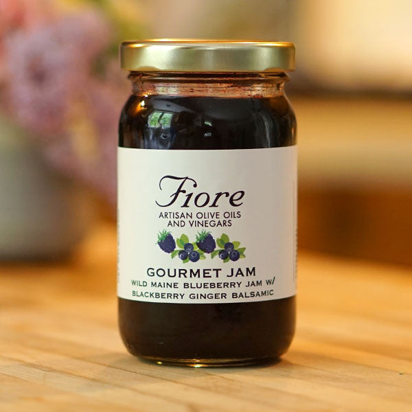 FIORE Gourmet Blueberry Jam - Maine