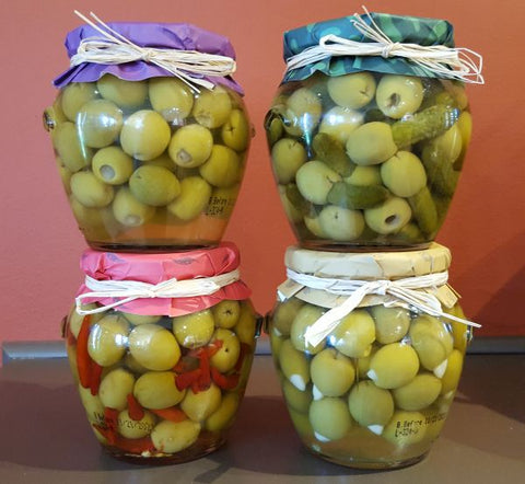 Gherkin Stuffed Manzanillo Olives