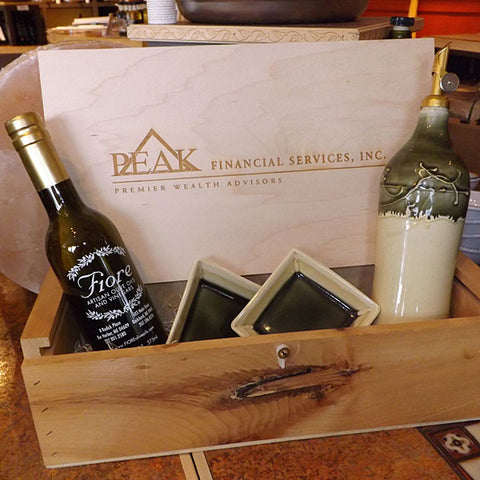 Personalized 2 Bottle Gift Box