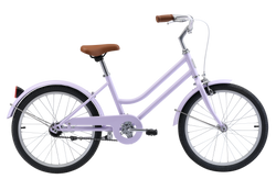 "Girls Vintage Style Bike 20"" in Lavender with single-speed gearing from Reid Cycles Australia"