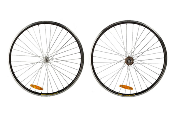 Singlespeed Wheelset 700c Black