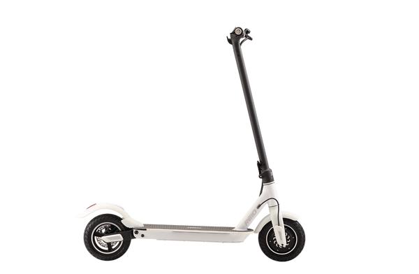 E4 Plus Electric Scooter White