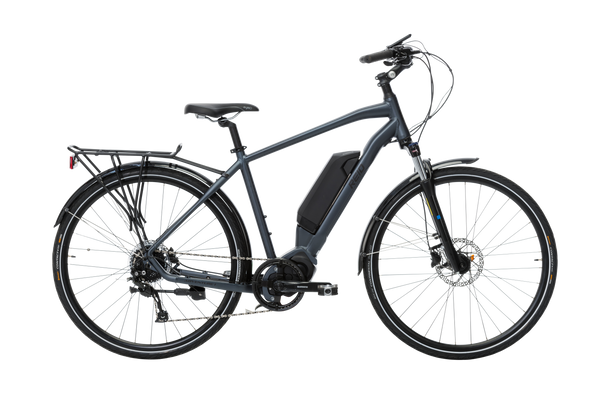 Adventure eBike in Charcoal with Shimano steps drive system from Reid Cycles Australia