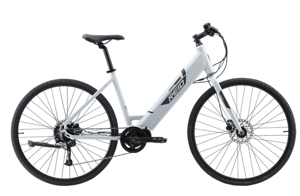 Blacktop 2.0 WSD Electric Bike in white with Ananda Mid-drive motor from Reid Cycles Australia