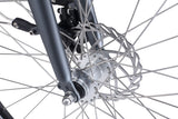 City Pulse eBike in charcoal showing Mechanical disc brake from Reid Cycles Australia