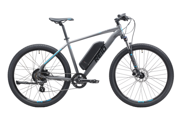 E-trail eBike 2020 in Charcoal with Bafang rear hub motor from Reid Cycles Australia