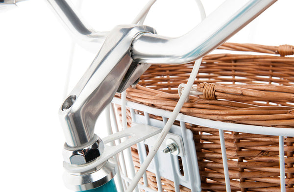 Reid Front Basket Kit - Classic White     Reid Cycles AU