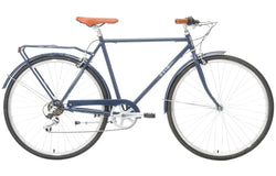 Roadster Vintage Bike in Navy with 7-speed Shimano gearing from Reid Cycles Australia