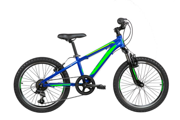 "Scout 20"" Kids Bike in Blue Green with Shimano 7-speed gearing from Reid Cycles Australia"