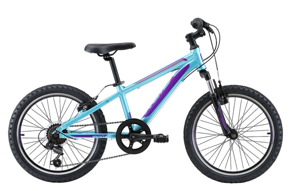 "Scout 20"" Kids Bike in light aqua with Shimano 7-speed gearing from Reid Cycles Australia"