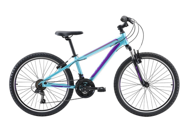 "Scout 24"" Kids Bike in light aqua with Shimano 7-speed gearing from Reid Cycles Australia"