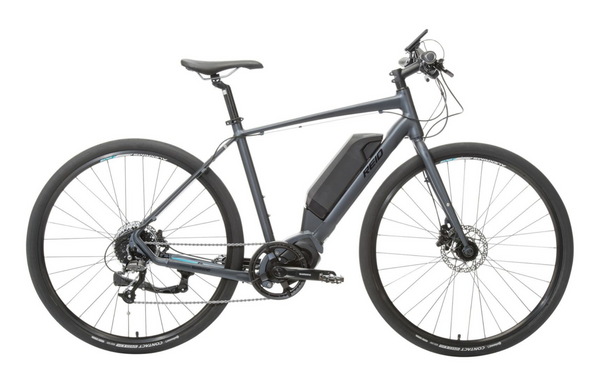Urban+ Electric Bike in Black with Shimano steps mid-drive motor from Reid Cycles Australia