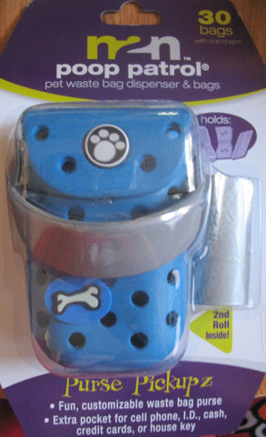 Poop Patrol Purse Pickupz Pet Waste Dispenser & Bags