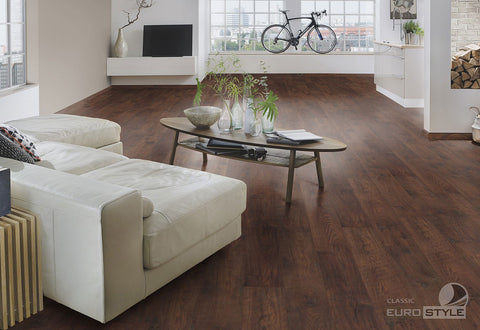 EuroStyle German Laminate Flooring - Antique Chestnut