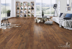 EuroStyle German Laminate Flooring - Bakersfield Chestnut