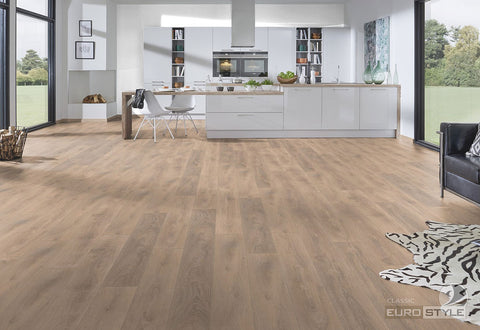 EuroStyle German Laminate Flooring - Blonde Oak