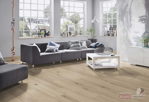 EuroStyle German Laminate Flooring - Country Barnwood
