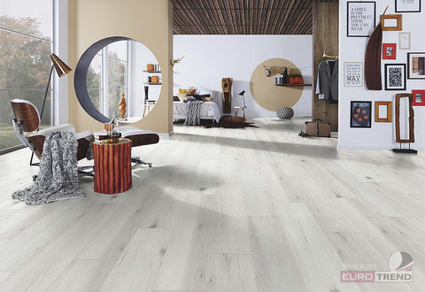 EuroStyle German Laminate Flooring - Gossamer Oak Wide Body