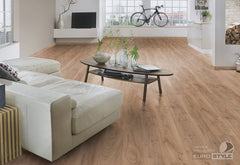 EuroStyle German Laminate Flooring - Historic Oak Vintage Longboard