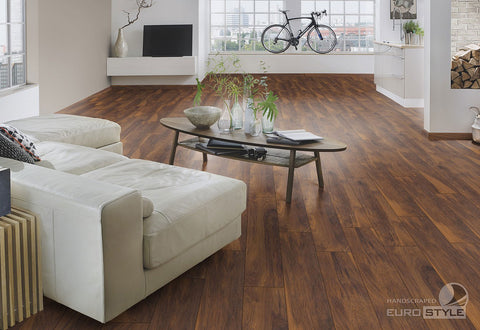 EuroStyle German Laminate Flooring - Red River Hickory