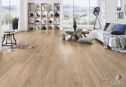 EuroStyle German Laminate Flooring - Valley Oak Classic