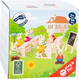 Small Foot Rabbit's School Play Set