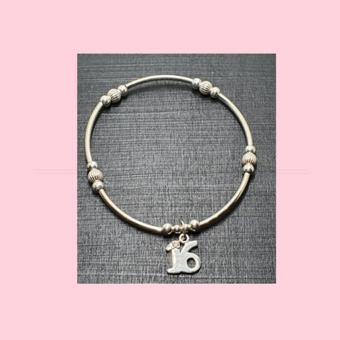 16th Birthday Bracelet