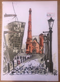 Liverpool Watercolour Painting Collection By Cole Joseph Art
