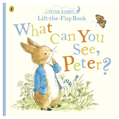 What Can You See Peter? Very Big Lift the Flap Book