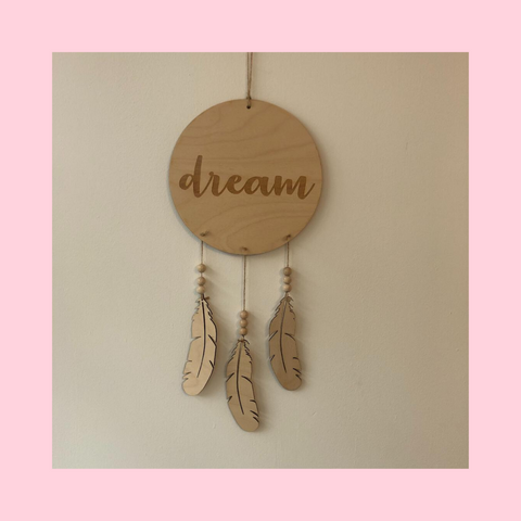 Eco Wooden Dreamcatcher