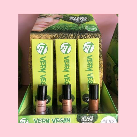 W7 Very Vegan Natural Glow Illuminator Liquid