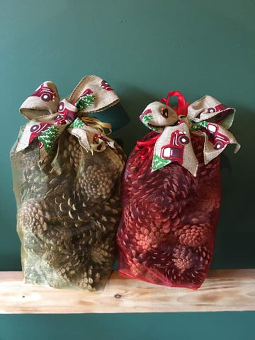 Winter Spice Scented Pine Cones