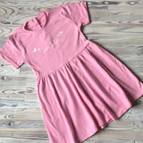 Girls Personalised 100% Cotton Dress
