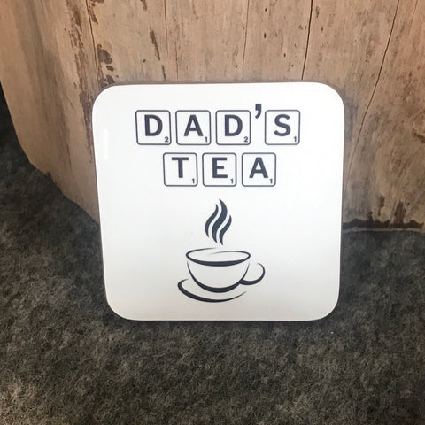 Dad's Tea Drink Coaster