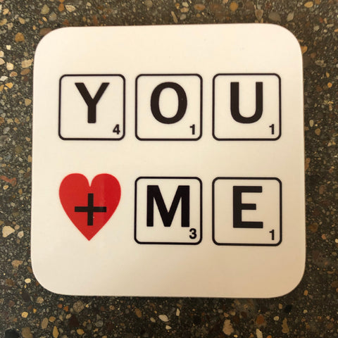 You And Me Drinks Coaster