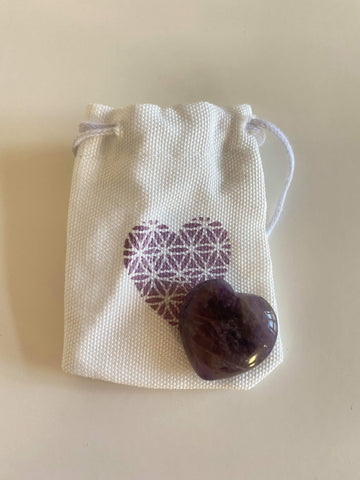 Crystal Heart Gift Pouch
